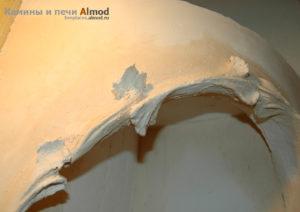 Гипсовая лепнина для камина от Almod