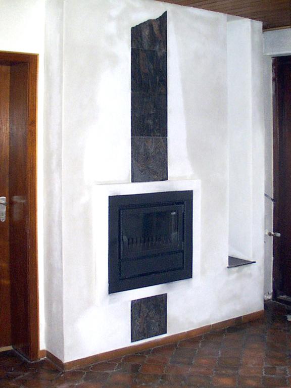 Отопительная печь встроенная в стену от Almod