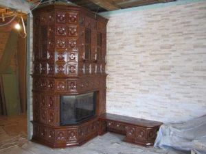Изразцовый камин в Песках от Almod