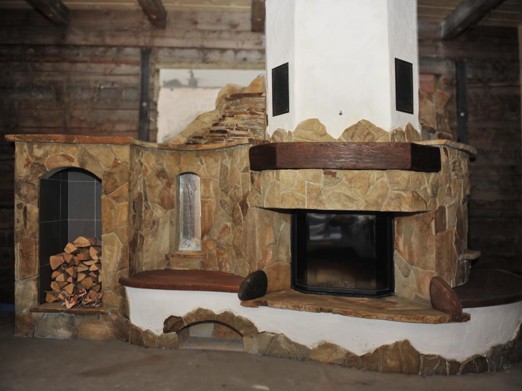 Эксклюзивный камин в стиле кантри от Almod