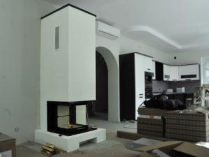 Современный камин в стиле минимализма от Almod