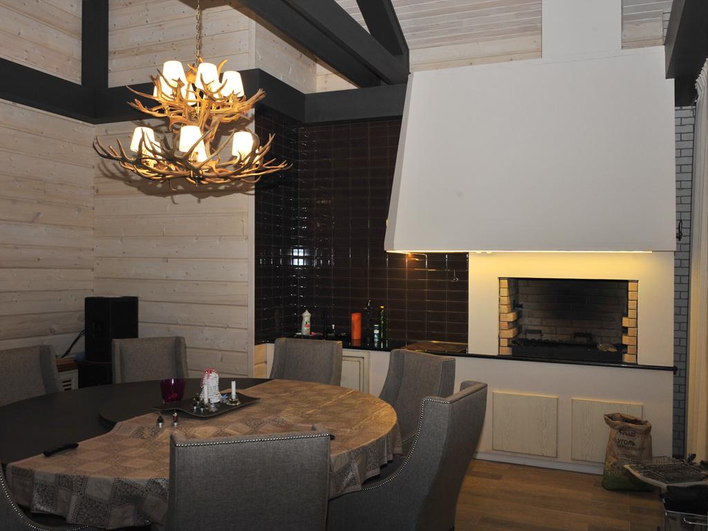 Кухонный комплекс для приготовления еды на огне от Альмод