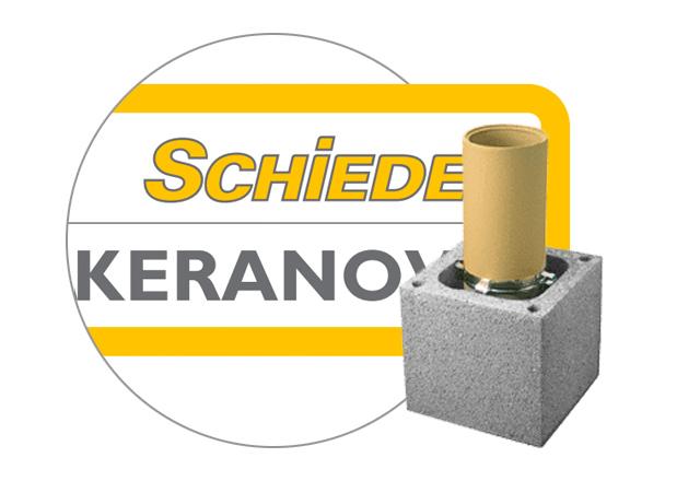 Керамические дымоходы Schiedel KERANOVA