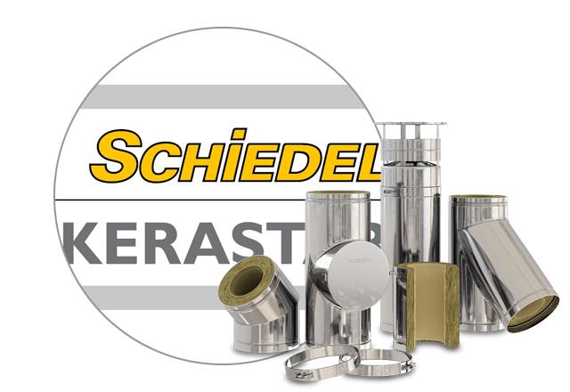 Комбинированные дымоходы Schiedel KERASTAR