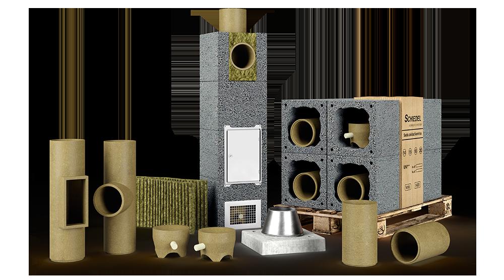 Комплект керамического дымохода Schiedel UNI