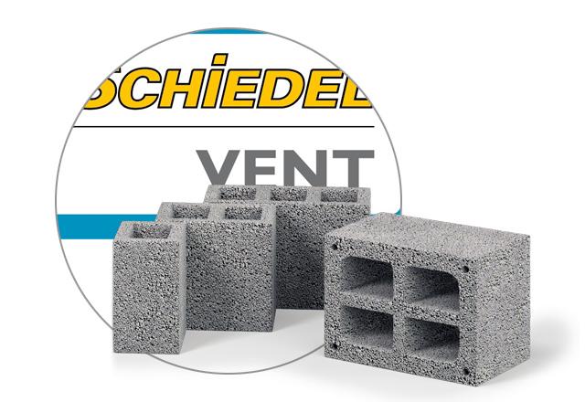 Вентканалы Schiedel VENT