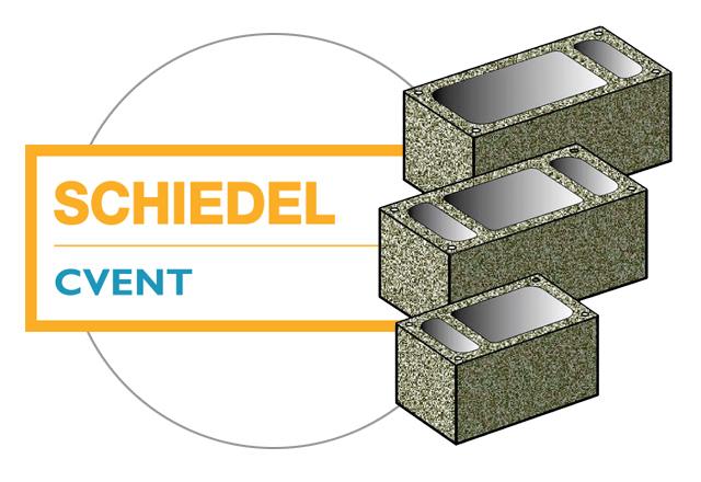 Schiedel CVENT, вентиляционные каналы