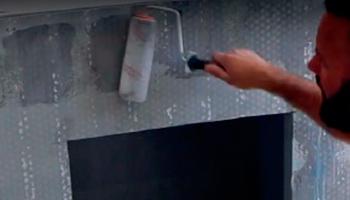 Грунтование плит из силиката кальция