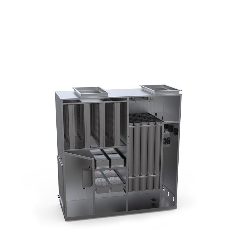 Конструкция системы закрытой рециркуляции воздуха