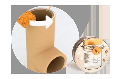 Установка регулятора тяги в дымоход от Almod
